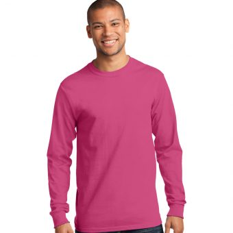 Personalized Logo on 100% Cotton Long Sleeve T-Shirt