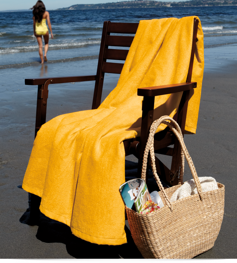 Embroidered Towels Custom: Design Embroidered Custom Beach Towel Online At AllStarLogo