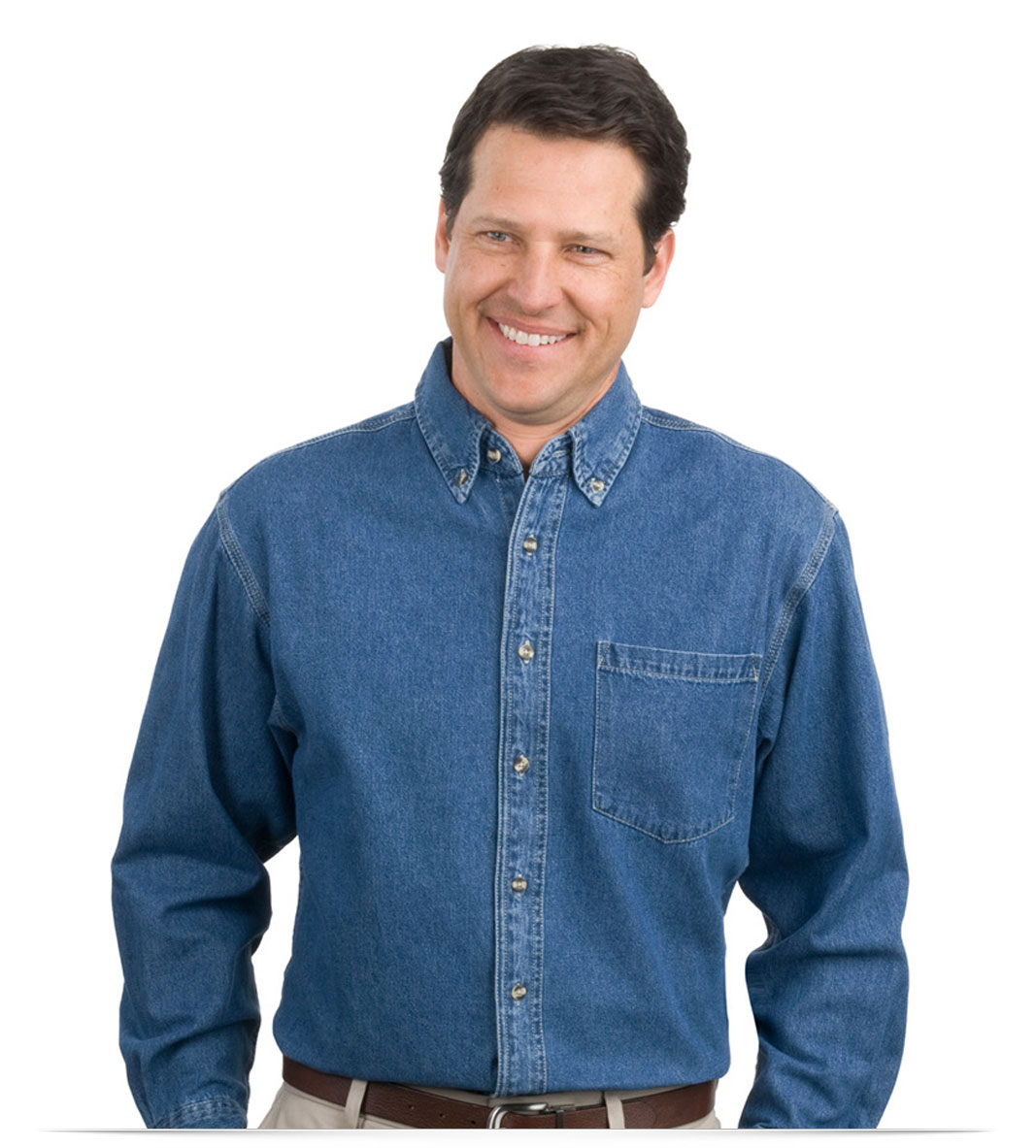 Customize Denim Shirt Heavyweight