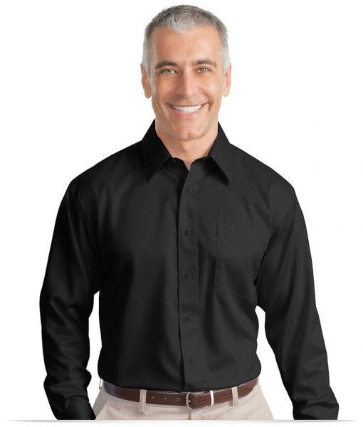 Design Custom Men 39 S No Iron Shirt Twill Online At Allstar Logo