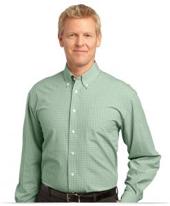 Customize Plaid Easy Care Shirt