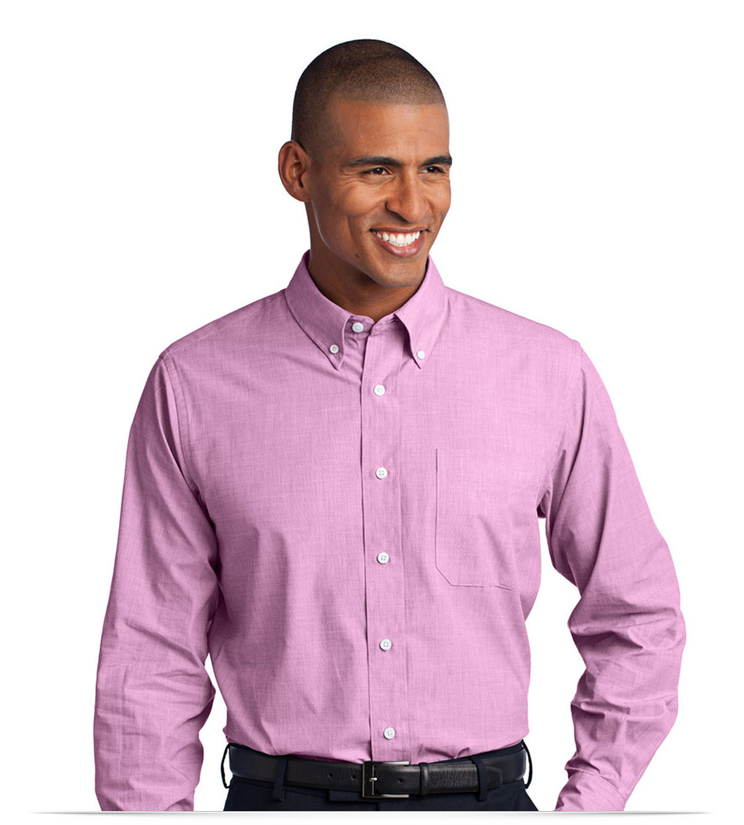 Men's Easy Care Shirt With Personalized Logo