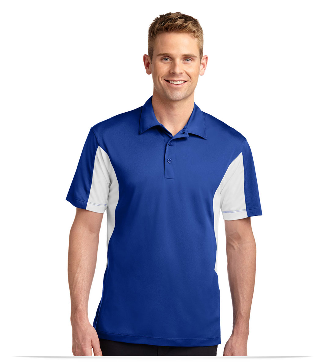 Custom Men's Sport Shirt Moisture Wicking