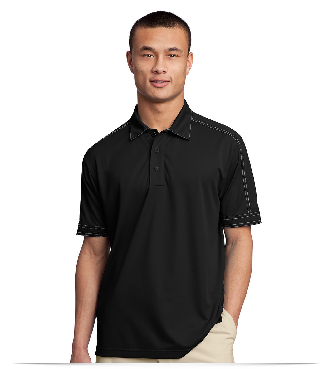Customized Men's Micropique Dri Wick Polo