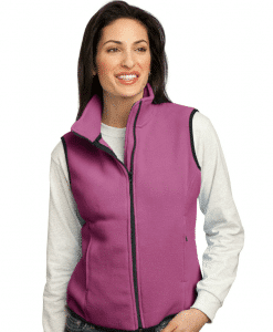 Custom Women's Fleece Vest