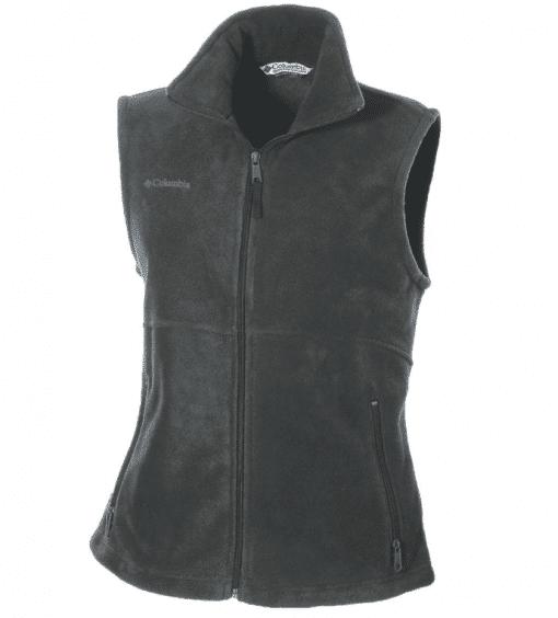 Embroidered Columbia Ladies Fleece Vest