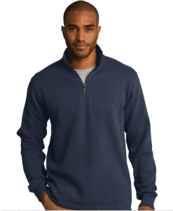 Custom Logo on 1/4-Zip Pullover by Port Authority