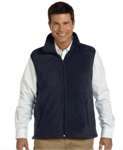 Fleece Vest with Custom Embroidered Logo