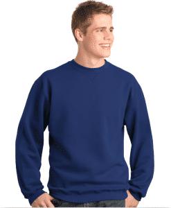 Custom Printed Crewneck Sweatshirt Sueded Fleece