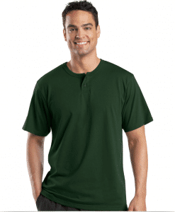 Custom Henley Short Sleeve T-Shirt