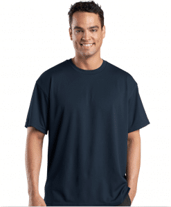 Customize Port Authority Dri Mesh Short Sleeve T-Shirt