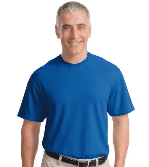 Custom Logo Rapid Dry Crew Neck T-Shirt