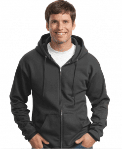Personalized Full-Zip Hooded Sweatshirt
