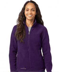 Custom Logo Eddie Bauer Ladies Full-Zip Fleece Jacket