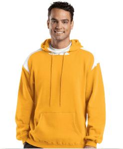 Custom Printed Hooded Pullover Sweatshirt