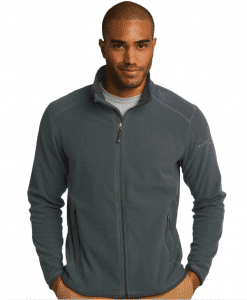 Custom Eddie Bauer Full-Zip Vertical Fleece Jacket