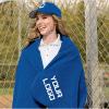 Custom Stadium Fleece Blanket