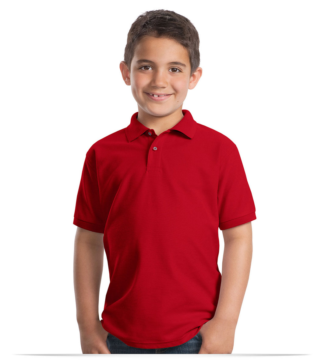 Customize Kid's School Shirt 65/35 Cotton/Poly