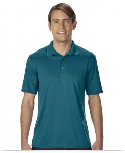 Embroidered Men's Jersey Dri-Fit Polo