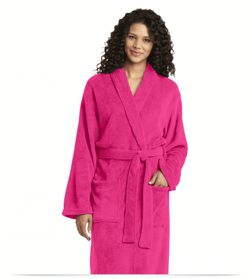Customize Port Authority Plush Microfleece Collar Robe