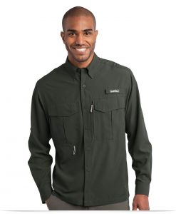 Customize Eddie Bauer Long Sleeve Performance Fishing Shirt