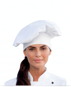 Personalized Poplin Chef Hat
