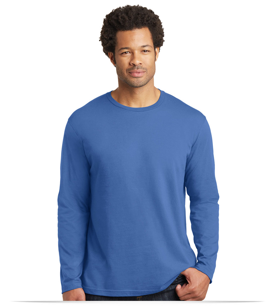 Personalized Logo District Made Mens Long sleeve Tee