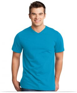 Customize District Young Men's Tee V-Neck
