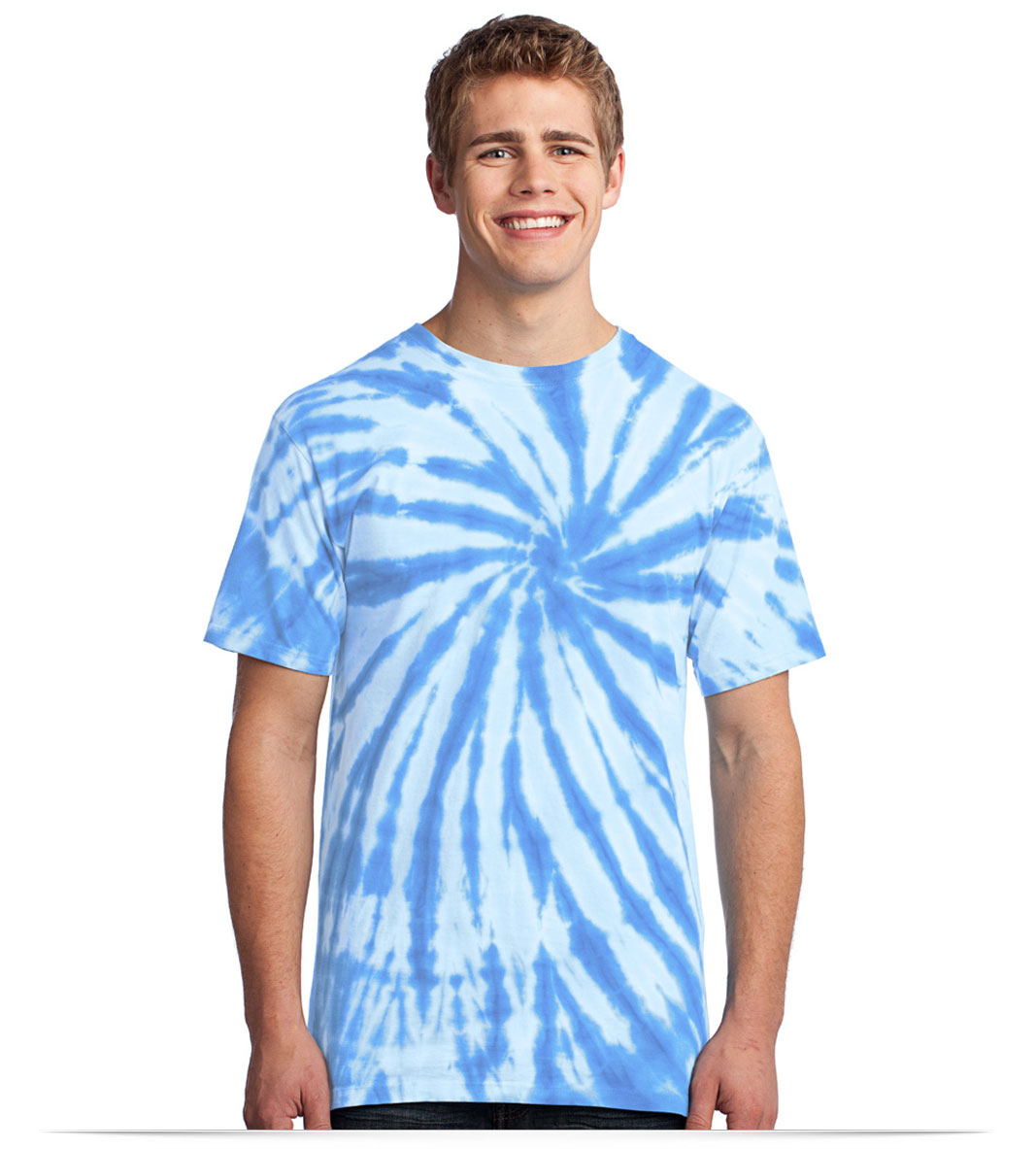 Customize Port and Company Adult Tie-Dye Tee