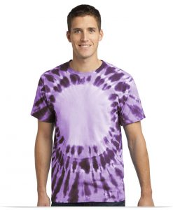 Customize Logo Port and Company Tie Dye Tee