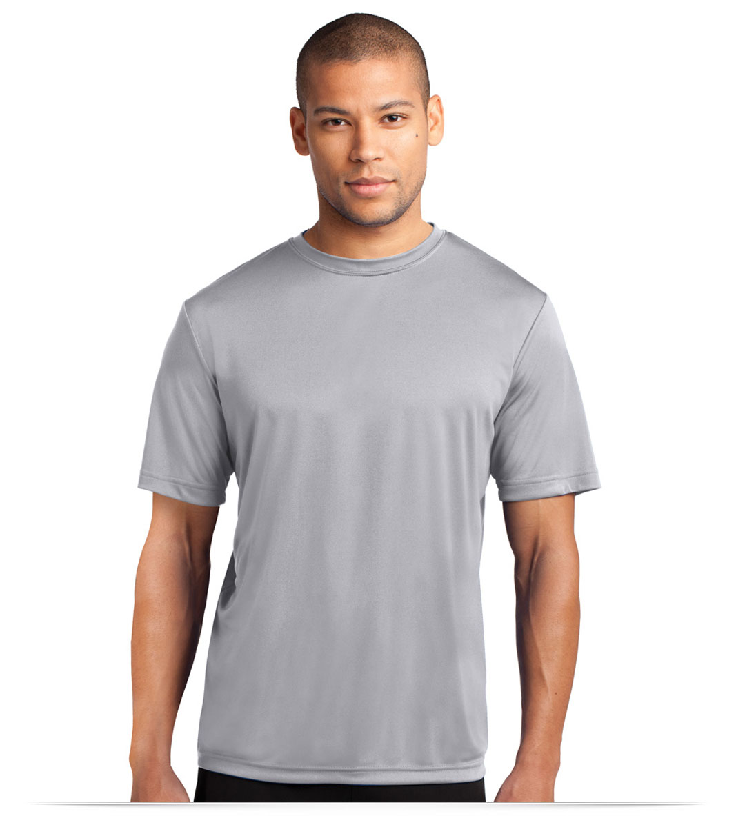 Embroidered Port and Company Essential Performance Tee