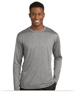 Customize Sport-Tek Long Sleeve Heather Contender Tee