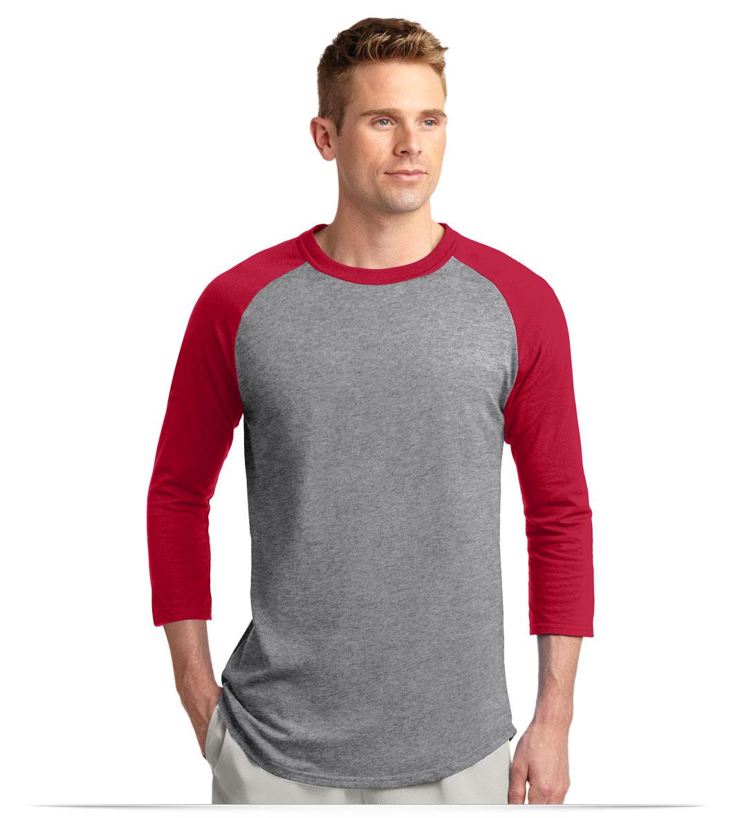 Customize Sport Tek Colorblock Raglan Jersey