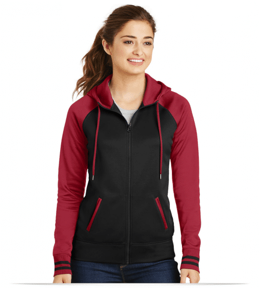 Personalized Sport-Tek Ladies Full-Zip Hooded Jacket