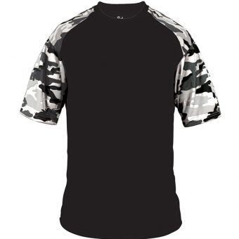 Custom Badger Sport Youth Camo Sport Tee