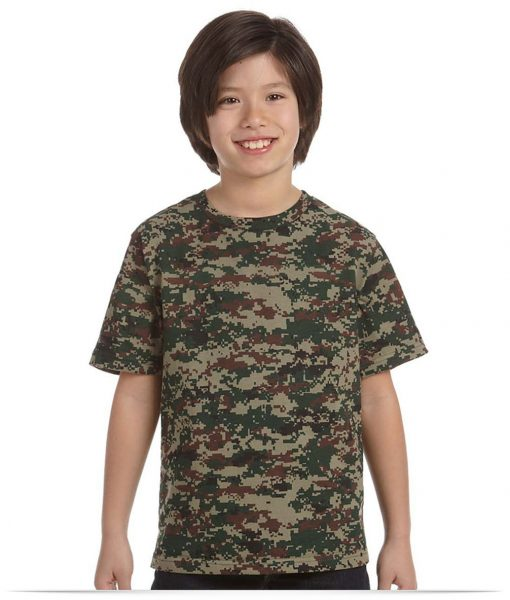 Custom Code Five Youth Camouflage T-Shirt