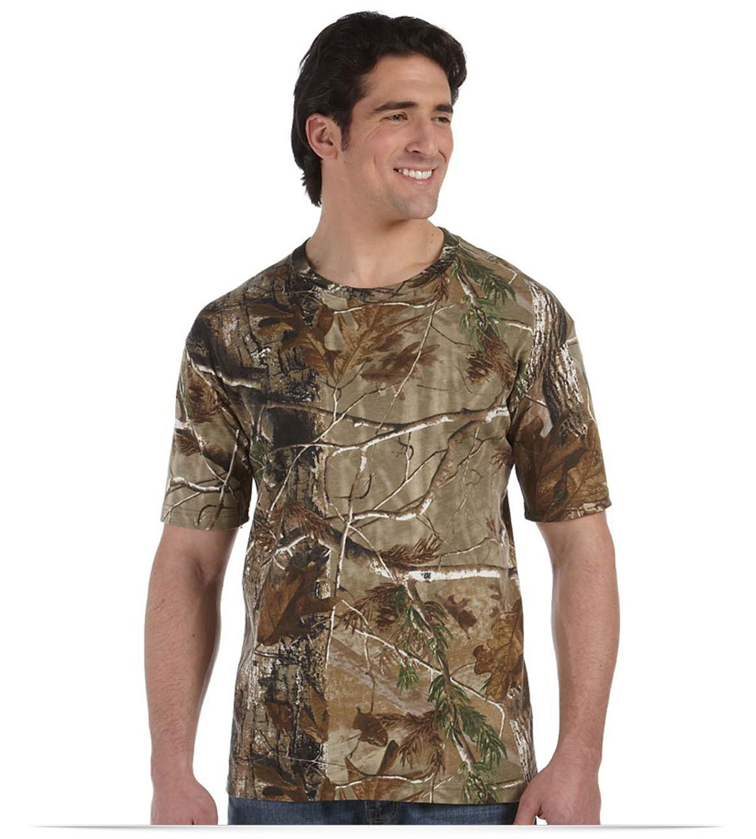 Design Code Five Camouflage Short-Sleeve T-Shirt