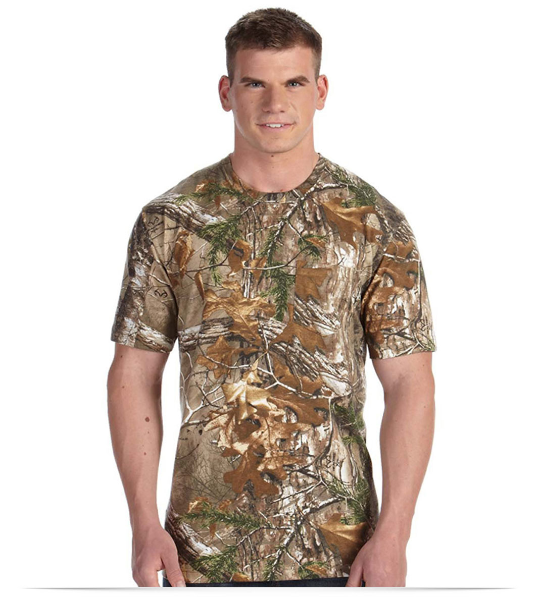Design Code Five Camouflage Pocket T-Shirt