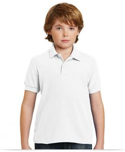 Customize Gildan Youth DryBlend Pique Sport Shirt