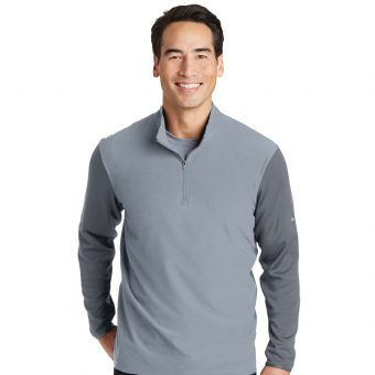 Personalized Logo Nike Golf Dri-FIT 1/2-Zip Cover-Up