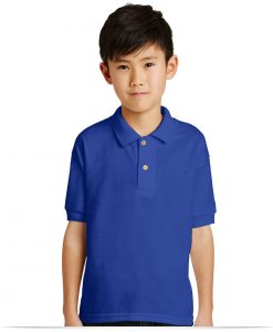 Customize Gildan Youth Jersey Knit Sport Shirt