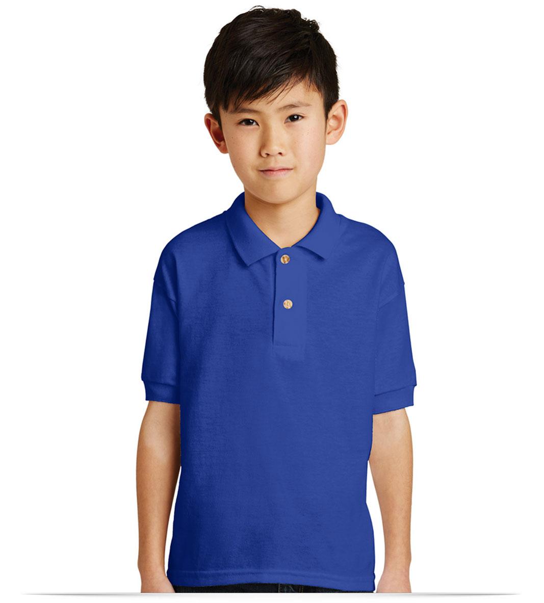 Customize Gildan Youth Jersey Knit Sport Shirt
