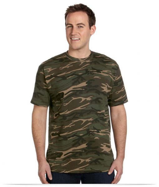 Design Anvil Midweight Camouflage T-Shirt