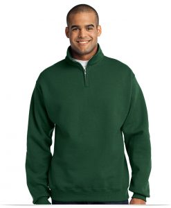 Custom JERZEES NuBlend 1/4-Zip Cadet Collar Sweatshirt