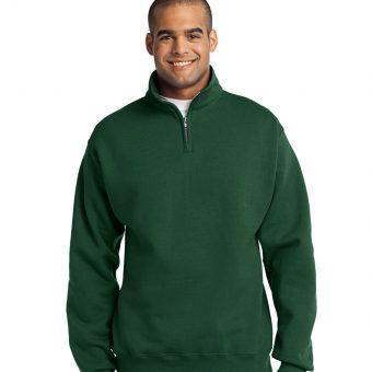 Custom JERZEES NuBlend 1/4-Zip Cadet Collar Sweatshirt