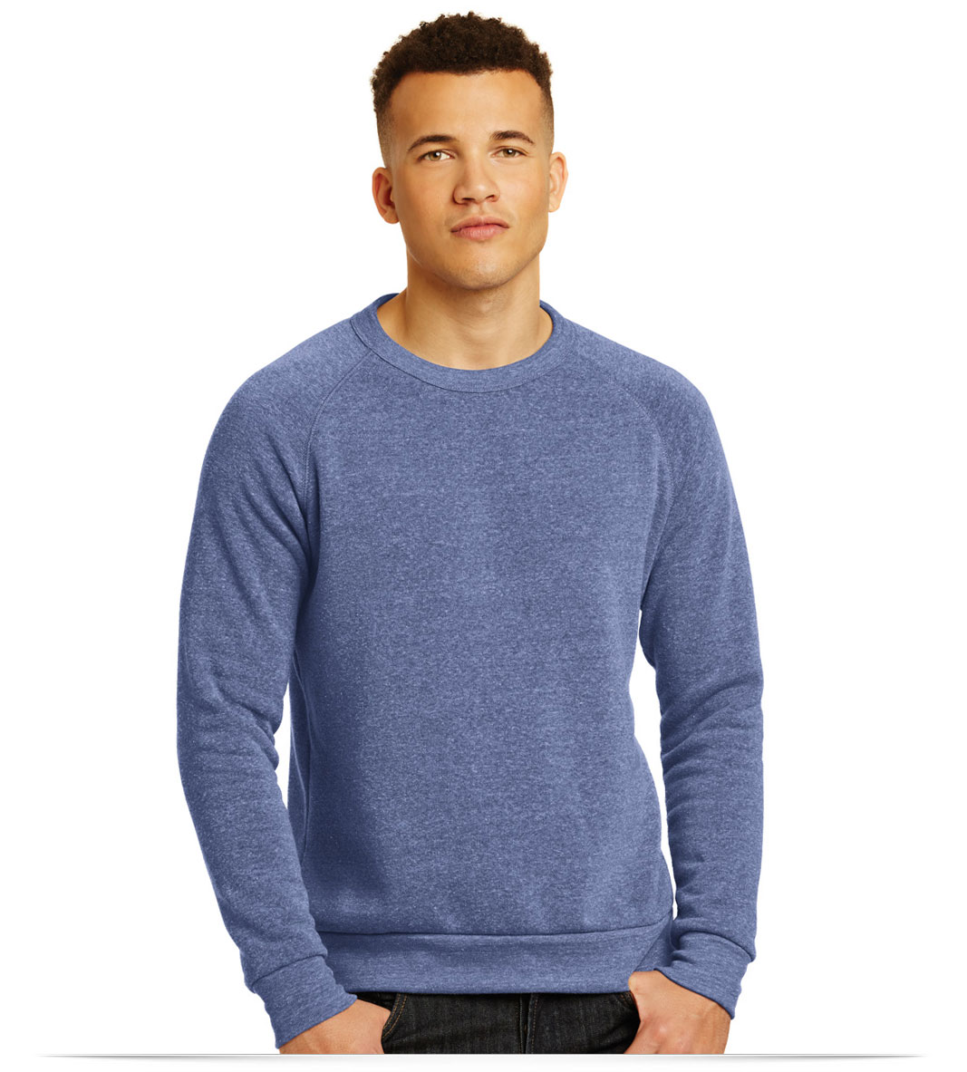 Custom Logo on Alternative Champ Eco-Fleece Sweatshirt
