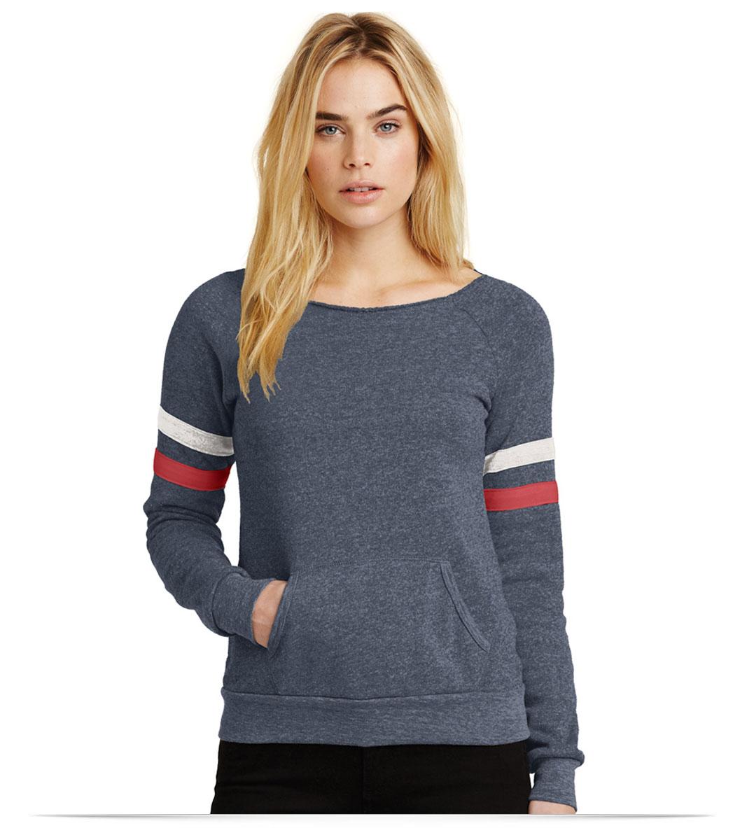 Personalized Alternative Sport Eco-Fleece Sweatshirt