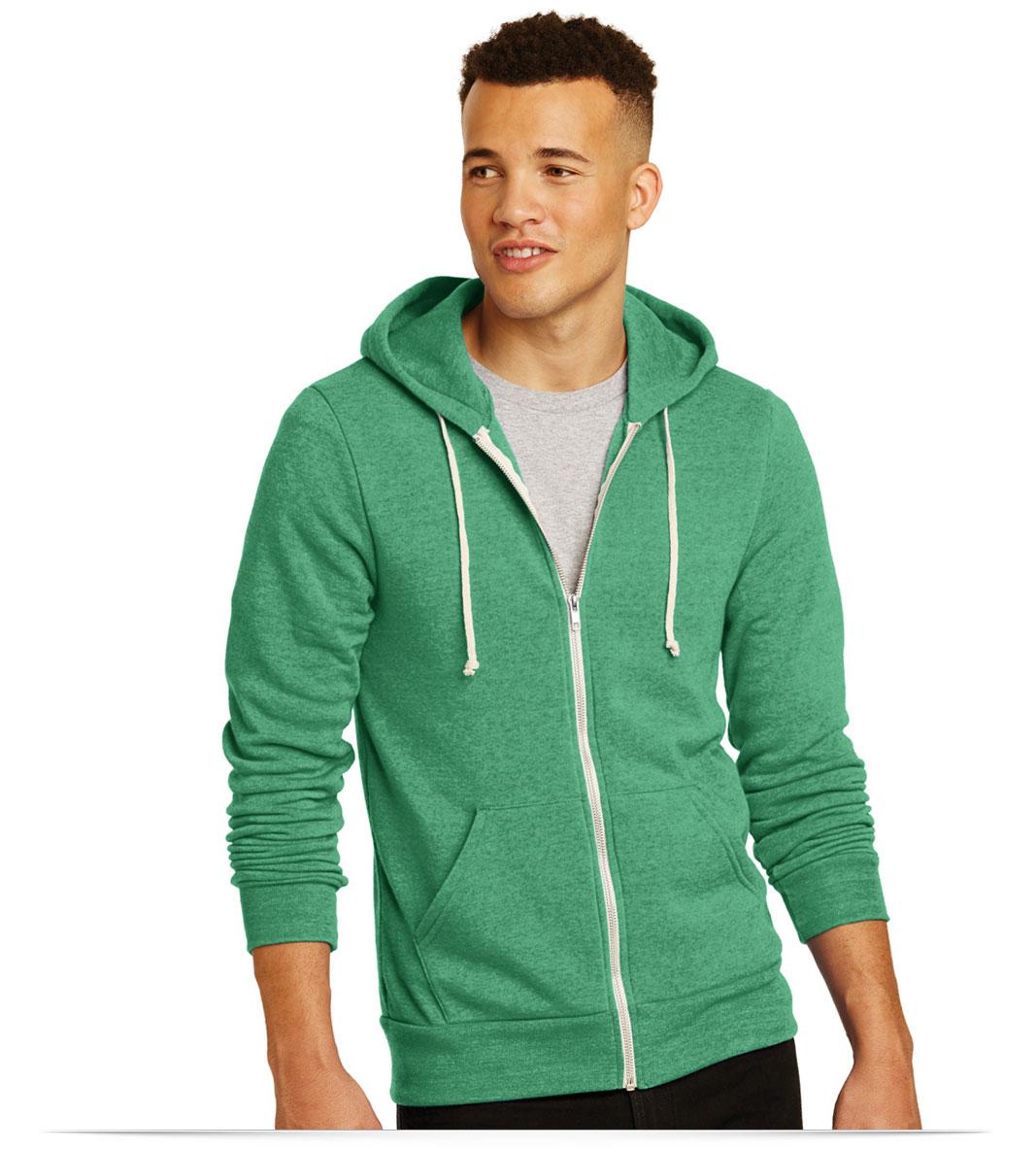 Personalized Alternative Rocky Eco-Fleece Zip Hoodie