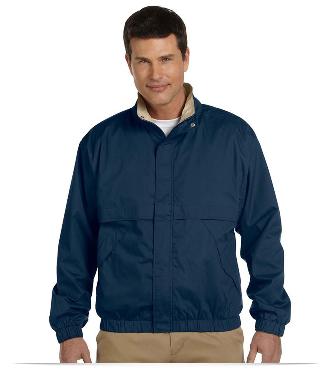 Customize Logo Devon & Jones Men's Clubhouse Jacket