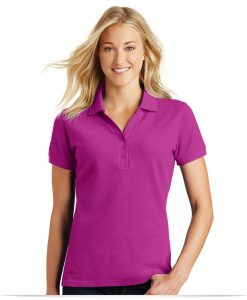 Customize Eddie Bauer Ladies Cotton Pique Polo